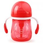 Бутылочка Happy Baby Anti-Colic Baby Bottle антиколиковая с ручками и силиконовой соской 180 мл Ruby