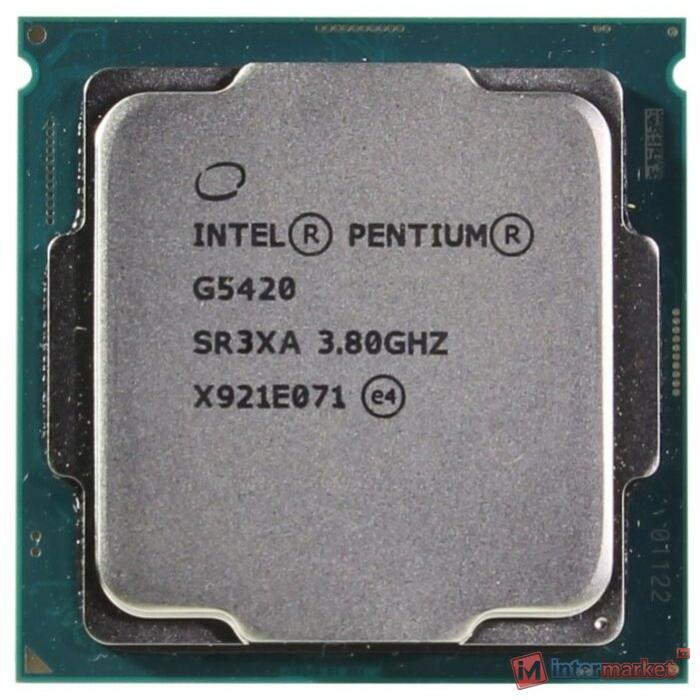 CPU Intel Pentium G5420 3,8 GHz 4Mb 2/4 Core Coffe Lake 54W FCLGA1151 Tray