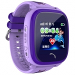 Часы Smart Baby Watch DF25G, фиолетовые
