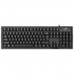 Клавиатура, Genius, Smart KB-102, USB, Чёрный