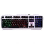 Игровая клавиатура Defender Metal Hunter GK-140L RU Silver USB