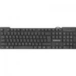 Клавиатура проводная Defender Element HB-190 USB RU, черный