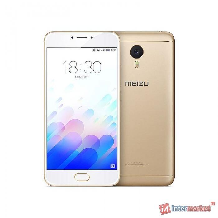 Смартфон Meizu M3 Note 16Gb, Gold