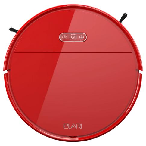 Робот-пылесос ELARI SmartBot Brush Red