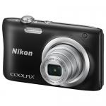 Компактный фотоаппарат Nikon CoolPix A100, 20.1Mpx, 4.6-23mm, 5x zoom, JPEG, f/3.2-6.5, 2.7'', Black