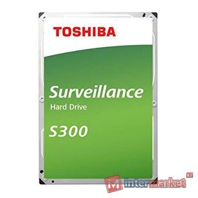 Жесткий диск Toshiba Surveillance S300 10Tb, HDD, 3.5